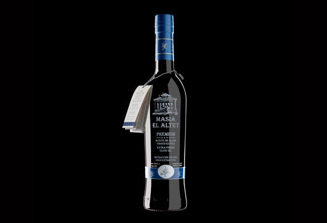 El aceite de las estellas, Masía El Altet, aceite de oliva Premium