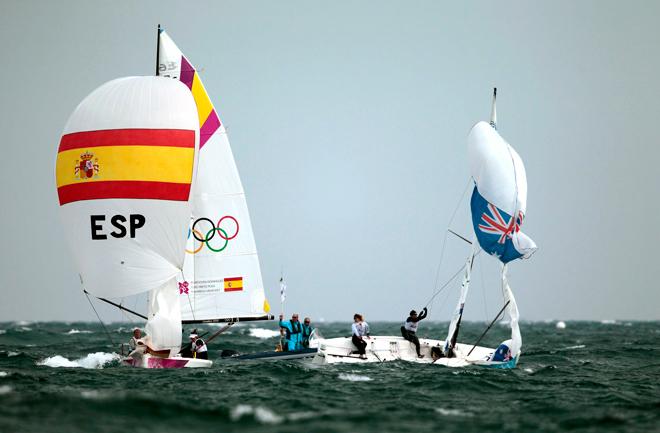 Echegoyen, Toro y Pumariega logran el segundo oro para la vela española en Londres 2012