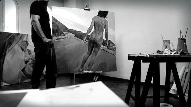 Alberto Mielgo pinta a Belladonna