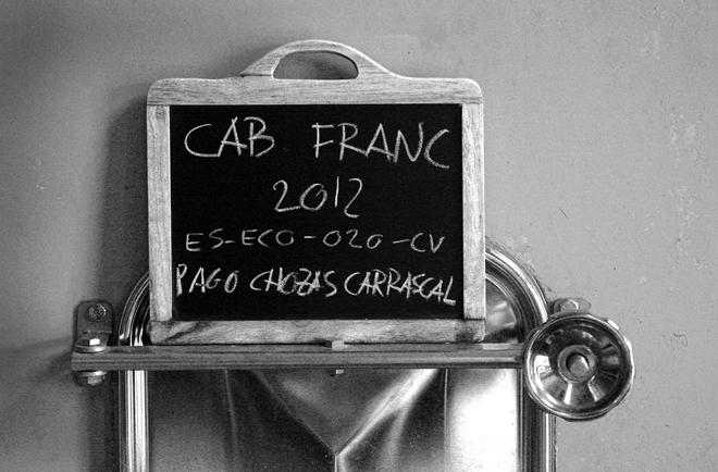 Vino de Pago Cabernet Franc de Bodegas Chozas Carrascal - Photo StylusVinum.com