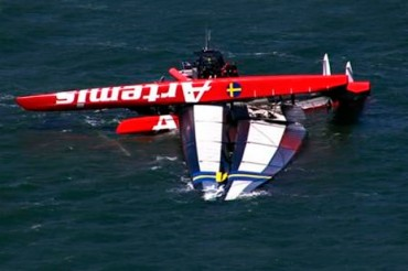 El britnico Andrew Simpson muere tras zozobrar el catamarn AC72 Artemis en San Francisco