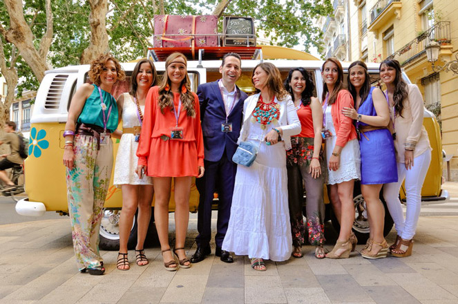 El Club Astoria & Friends celebra su primer aniversario con una flower party. Valencia