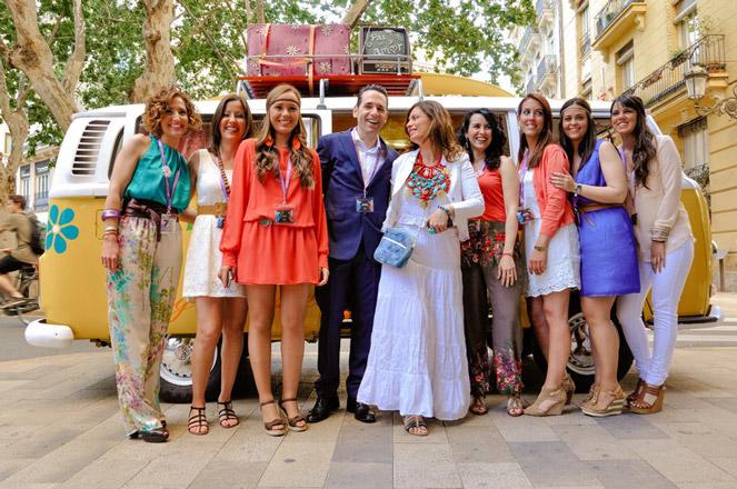 El Club Astoria & Friends celebra su primer aniversario con una flower party. Valencia