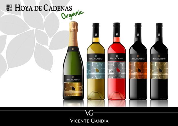 """""""Hoya de Cadenas Organic"""", los nuevos vinos de cultivo ecológico de Bodegas Vicente Gandia"""
