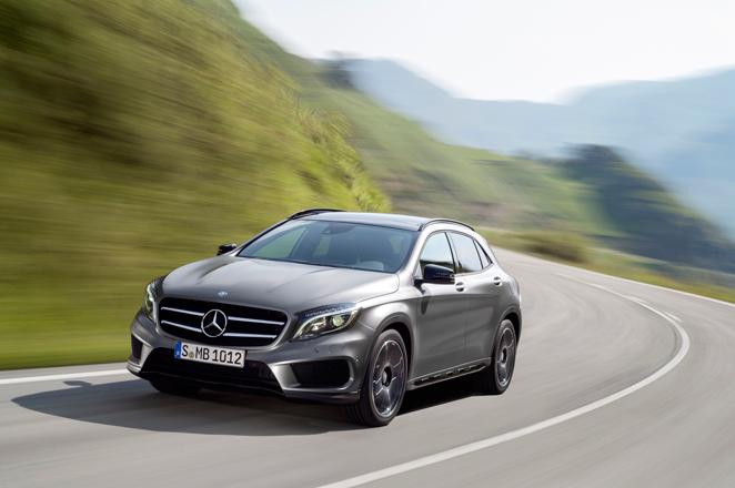 GLA, nuevo todocamino compacto de Mercedes-Benz