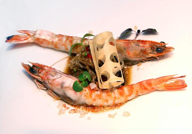 Restaurante 'Les Magnòlies' (Girona) gana el Concurso de Cocina Langostino de Vinaròs