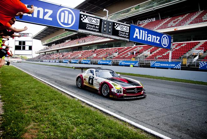 Los suizos Hofor Racing ganan las 24 Horas de Barcelona de Automovilismo