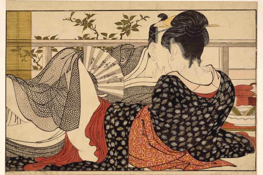'Shunga', sexo y placer japonés en el British Museum
