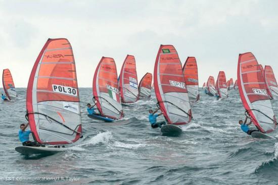 Buenos resultados para los RS:X Juveniles españoles en Italia