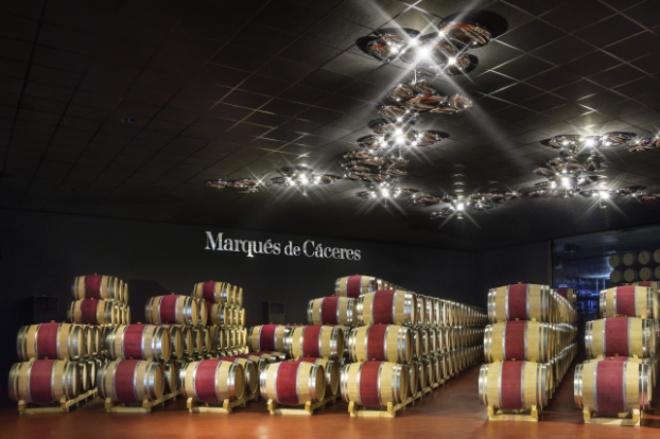 Enoturismo Marqués de Cáceres, Rioja