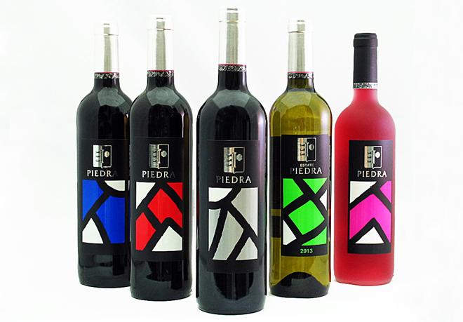 Estancia Piedra viste sus botellas de arte contemporáneo