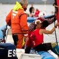 Un fuerte golpe deja inconsciente en el agua a Blanca Manchón