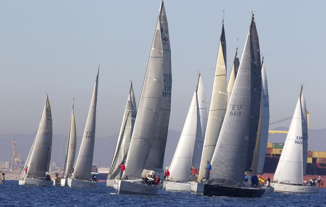 regata de cruceros entre Valencia y Sant Antoni