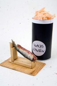 'Boquiabierto de jamón' del restaurante Llantén