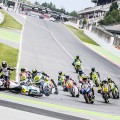 Caída-la-final-de-recta. FIM CEV Repsol en el Circuit de Barcelona-Catalunya