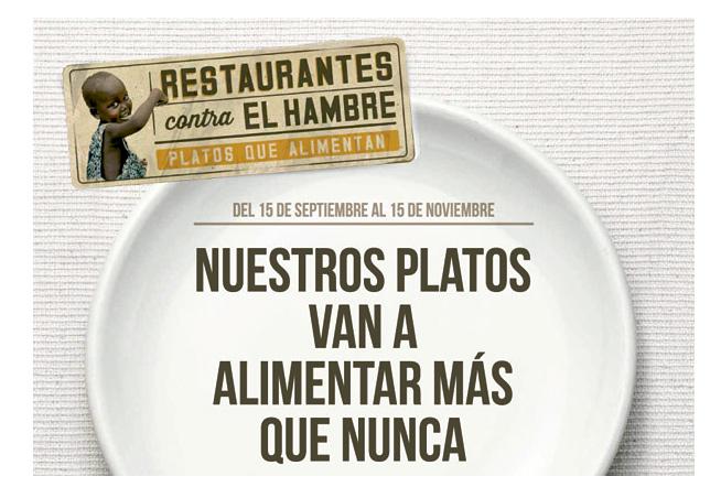 Acción Contra el Hambre y el chef Ángel León buscan restaurantes para luchar contra la desnutrición