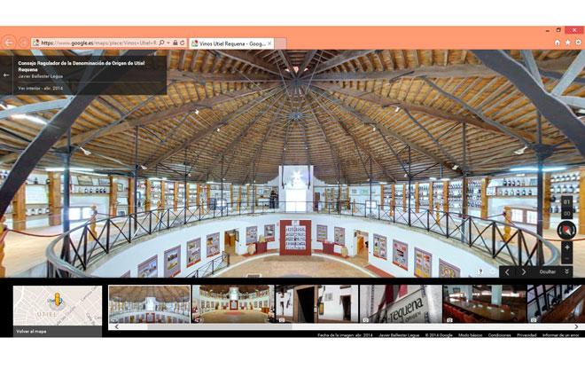 Utiel-Requena estrena su recorrido virtual a través de Google Maps Business View
