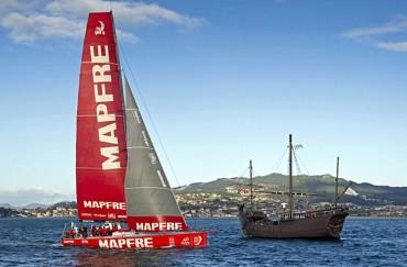 El 'Desafío MAPFRE' es galardonado por los Premios Nacionales de Vela Terras Gauda