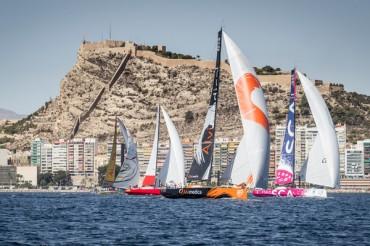 Complicada Etapa 0 de la Volvo Ocean Race en su vuelta a Mallorca