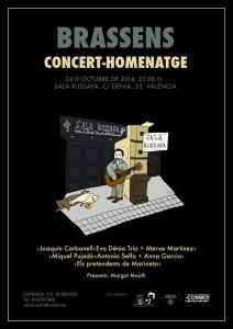 Georges Brassens será recordado en Valencia con un concierto a cargo de Eva Dénia, Joaquín Carbonell y Miquel Pujadó, www.globalstylus.com
