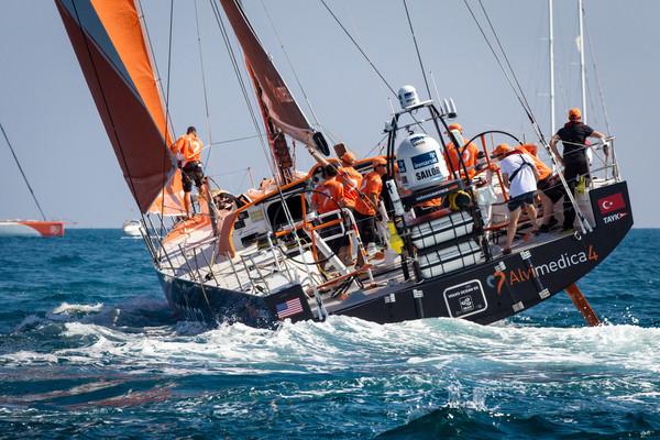 Team Alvimedica listo para partir hacia Ciudad del Cabo - Foto Ainhoa Sanchez - Volvo Ocean Race