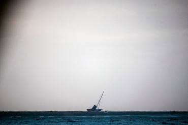 Rescatada y a salvo la tripulación del Team Vestas Wind