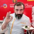 Trampantojo de percebes y foie, de Iñaki Rodrigo Rojas, del restaurante Punk Buch de Madrid, X Concurso Nacional de Pinchos y Tapas Ciudad de Valladolid, www.globalstylus.com www.stylusgastro.com