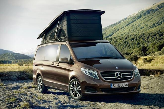 Aventura total con los nuevos Marco Polo de Mercedes-Benz