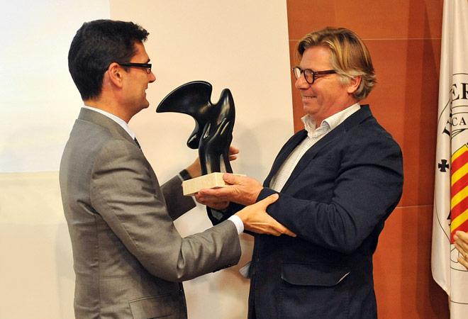 Dominio de Pingus, de Peter Sisseck, recibe el premio 'Terroir'