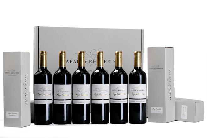 Abadía Retuerta reduce la huella del carbono en sus botellas de vinos de Pago