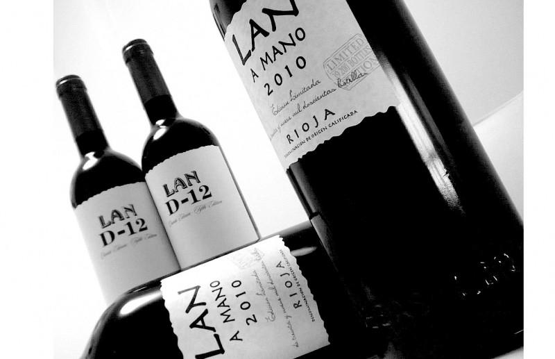 El vino más mimado. LAN a Mano