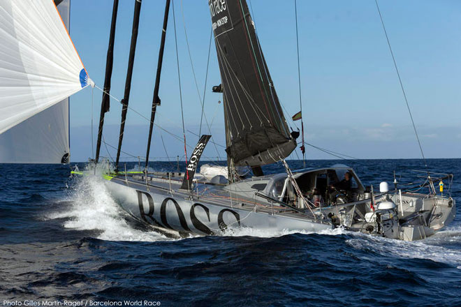 La Barcelona World Race entra de lleno en los alisios del sur
