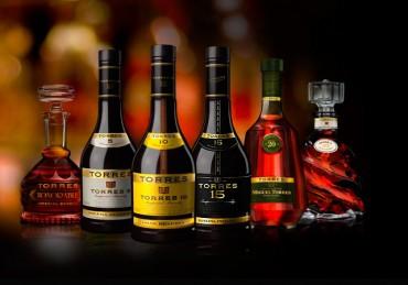 El brandy de Bodegas Torres irrumpe en el 'top ten' de las marcas más vendidas a nivel internacional