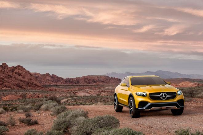 Mercedes Benz presenta el nuevo Concept GLC Coupe, www.globalstylus.com, www.styluscars.com