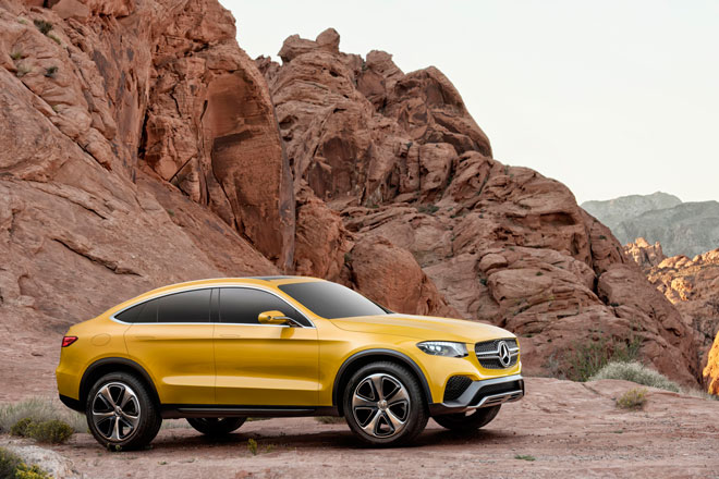 Mercedes Benz presenta el nuevo Concept GLC Coupe