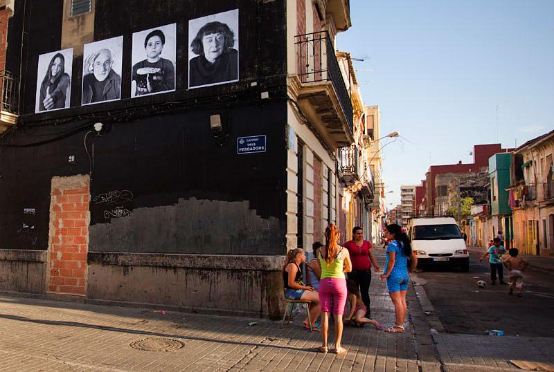 """""""Inside Out Project"""", el arte como resistencia en el barrio marinero de El Cabanyal, www.globalstylus.com, stylusart.com,"""