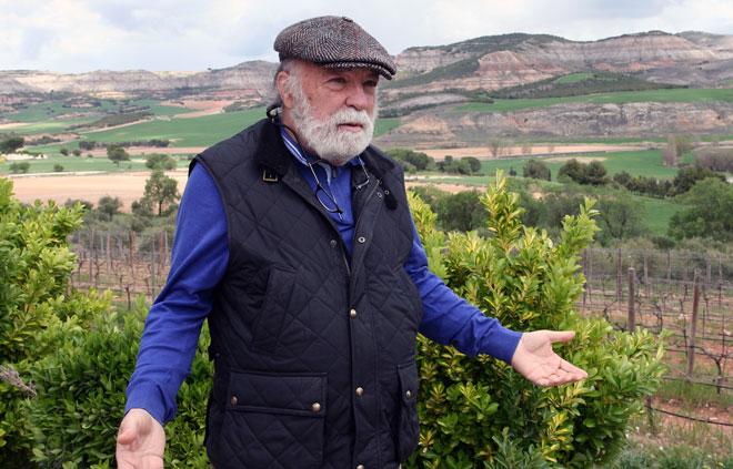 El sueño del arquitecto. Pago Calzadilla, Bodegas Uribes-Madero