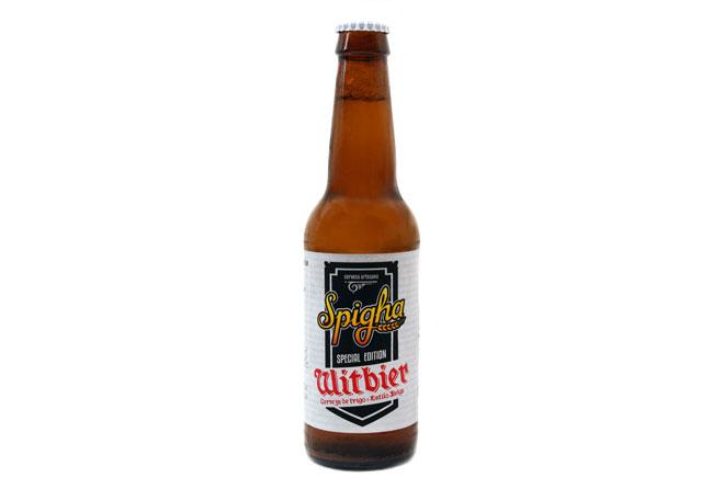 La cerveza del verano es de trigo. Spigha Witbier