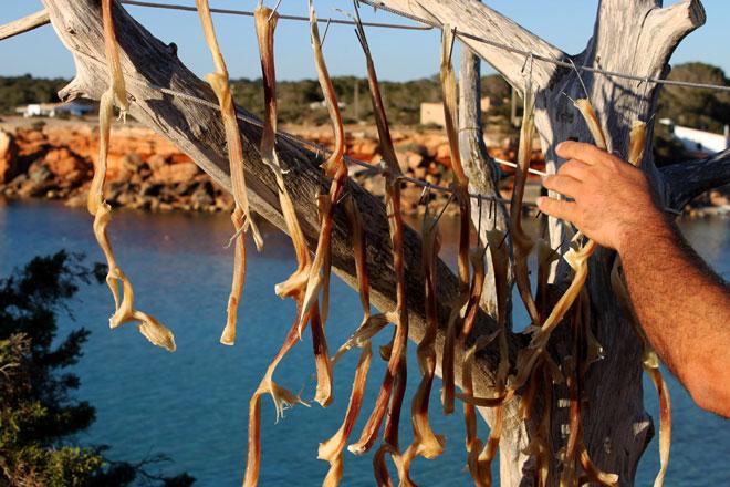 'Peix sec', 'greixonera' y sal líquida, patrimonio gastronómico de Formentera