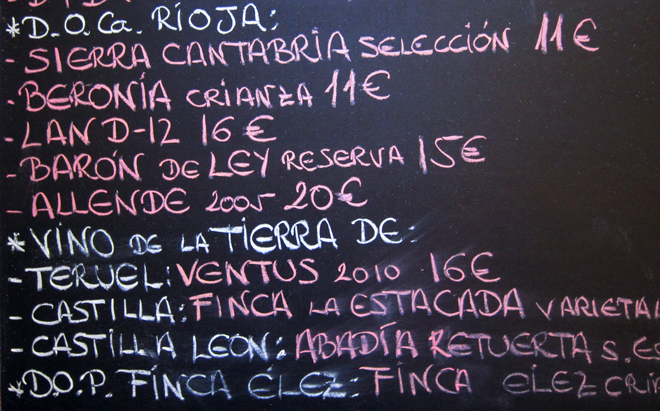 Comer de pinchos en Teruel, La Barrica Bar, http://globalstylus.com/