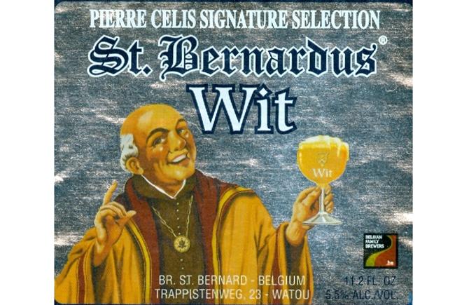 La St Bernardus Wit representa la tradicional cerveza blanca belga, http://globalstylus.com/, http://globalstylus.com/category/gastro/,