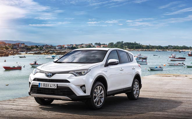 El primer todocamino con tecnología Full Hybrid de Europa es el nuevo Toyota RAV4
