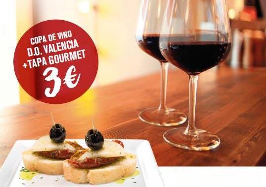 Los DO Valencia alegran el paladar con tapas y vinos