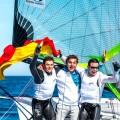Botín/López, Oro, y Echegoyen/Betanzos, Bronce, en el Europeo de 49er y FX en Barcelona
