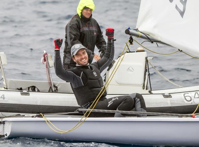 El canario Joaquín Blanco consigue la plaza en Laser para los Juegos Olímpicos de Río