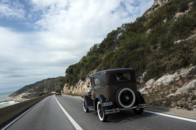 El fin de semana es para el Rally Internacional de Coches de Época Barcelona-Sitges