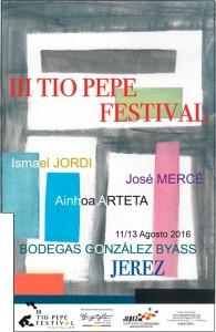 El 'III Tío Pepe Festival' vibrará con artistas internacionales 2016