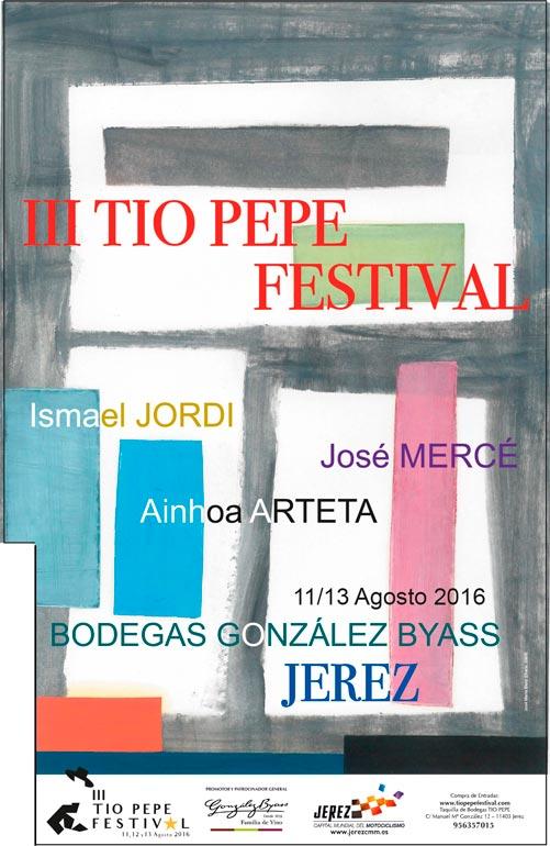 El iii t o pepe festival vibrar con artistas for Cartel tio pepe