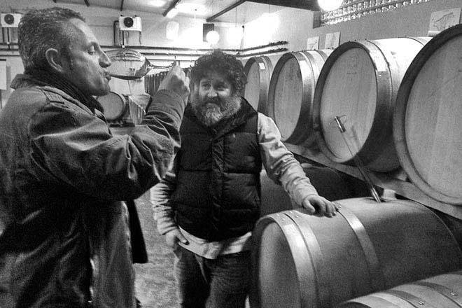 Raúl Pérez, pequeños caprichos del Bierzo. Camino del Norte Compañía de Vinos. La Patena. El Tesón.