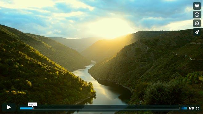 La Ribeira Sacra triunfa con su documental promocional